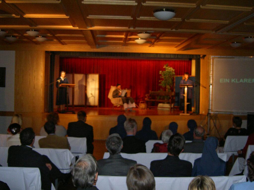 Festsaal im Herz-Jesu-Heim