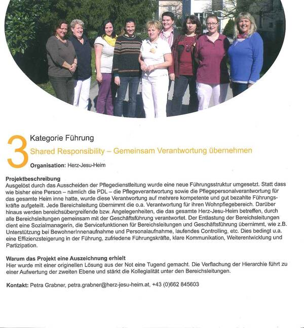 TELEIOS 2013: Großer Preis der Österreichischen Altenpflege